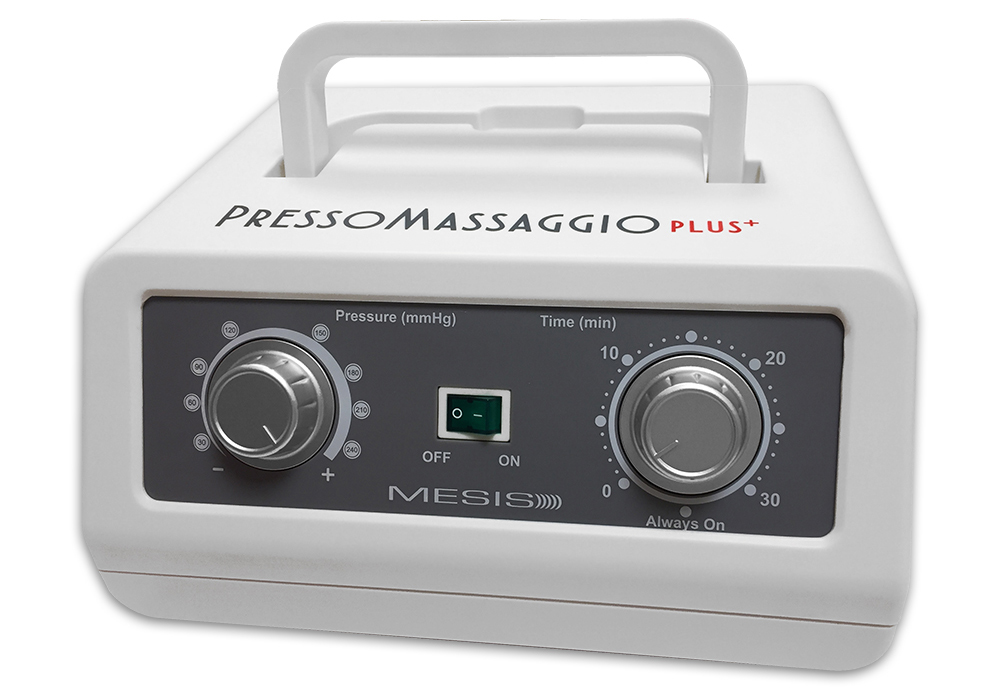 MESIS Pressoterapia PressoMassaggio Plus+ (con 2 gambali, Kit Slim Body ed 1 bracciale)